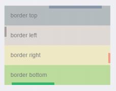 CSS边框长度控制